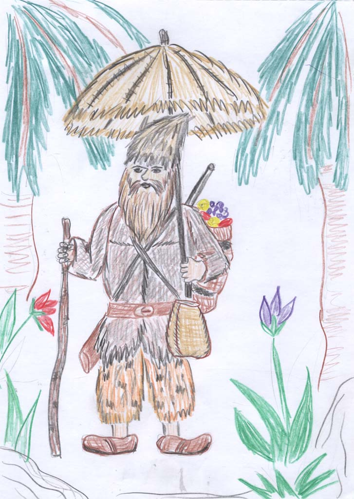 Рисунок к робинзону